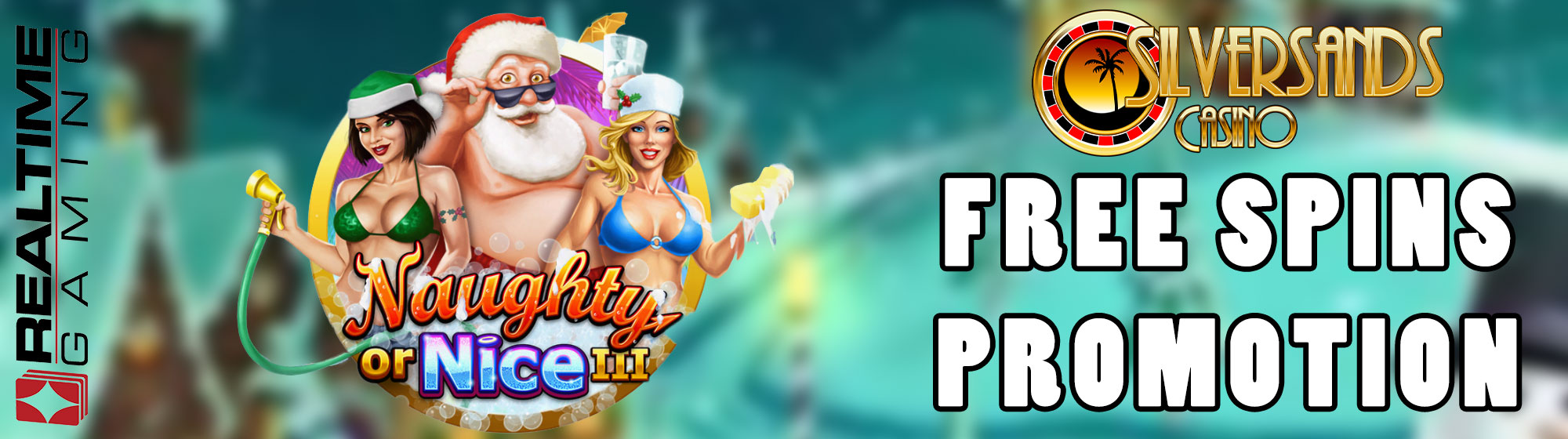 New Real Time Gaming slot - Naughty or Nice 3