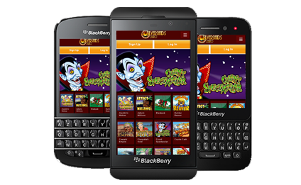 casino games for blackberry phones