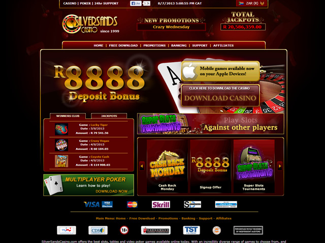sands online casino sizzling game